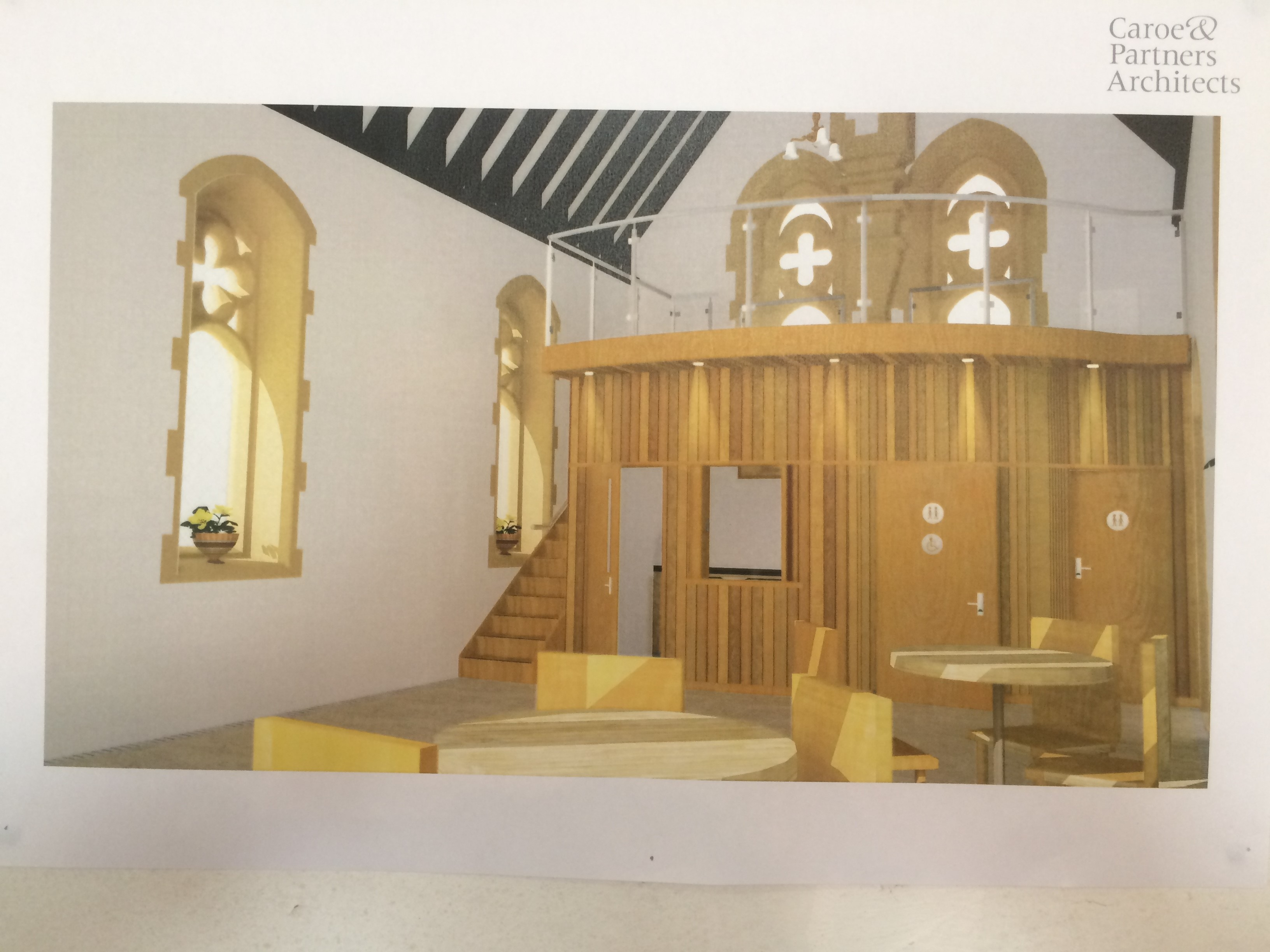 All Angels Church Plan Image 1