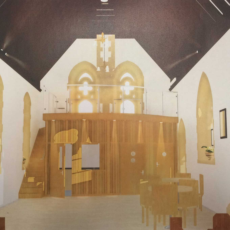 All Angels Church Plans