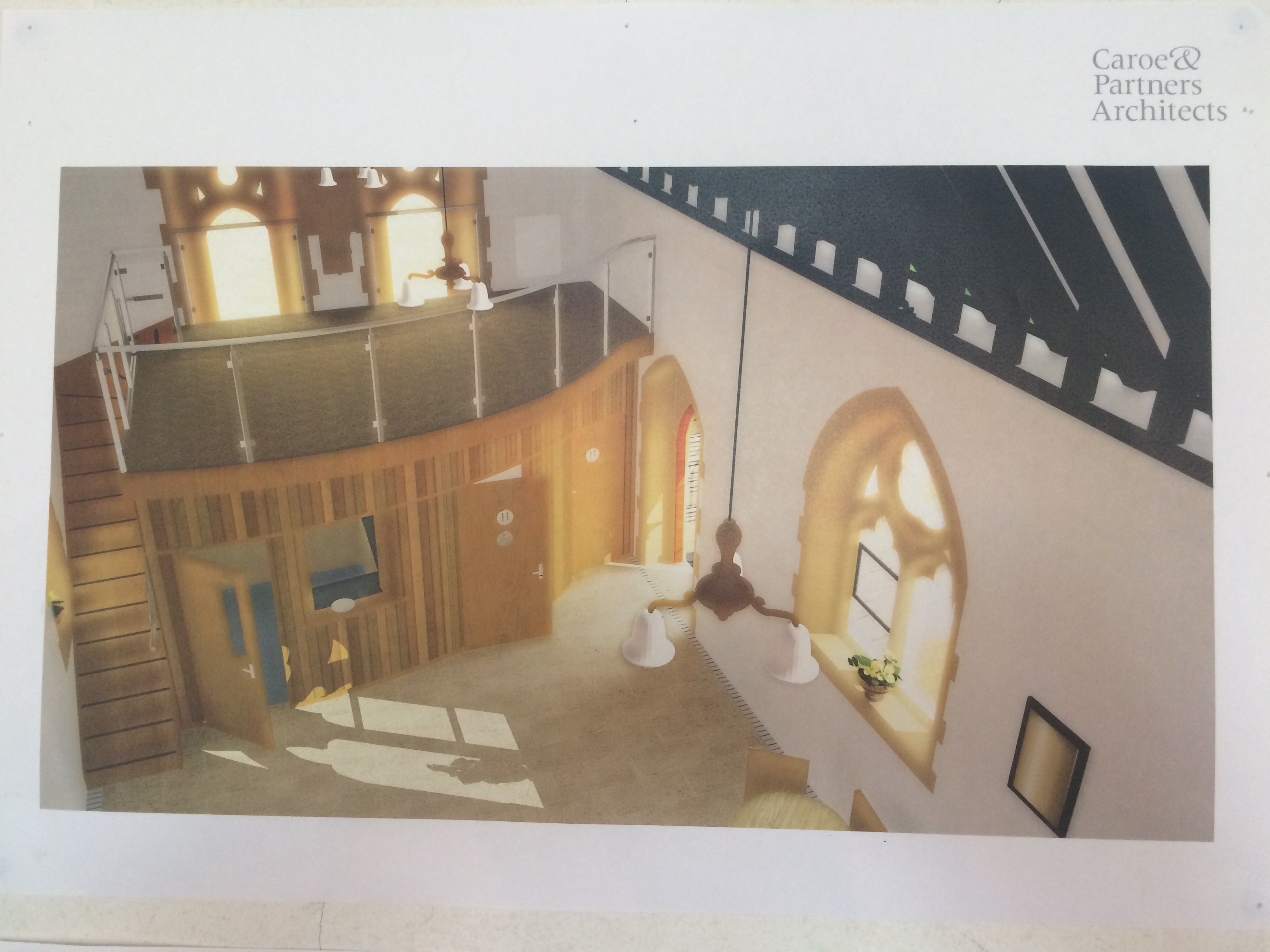 All Angels Church Plan Image 3