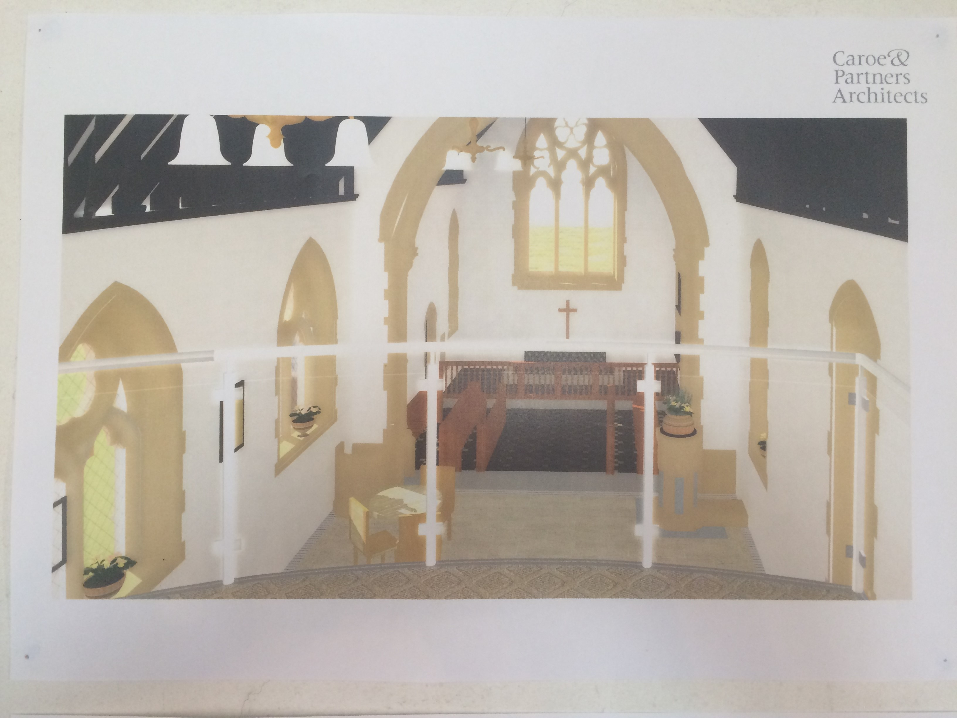 All Angels Church Plan Image 4