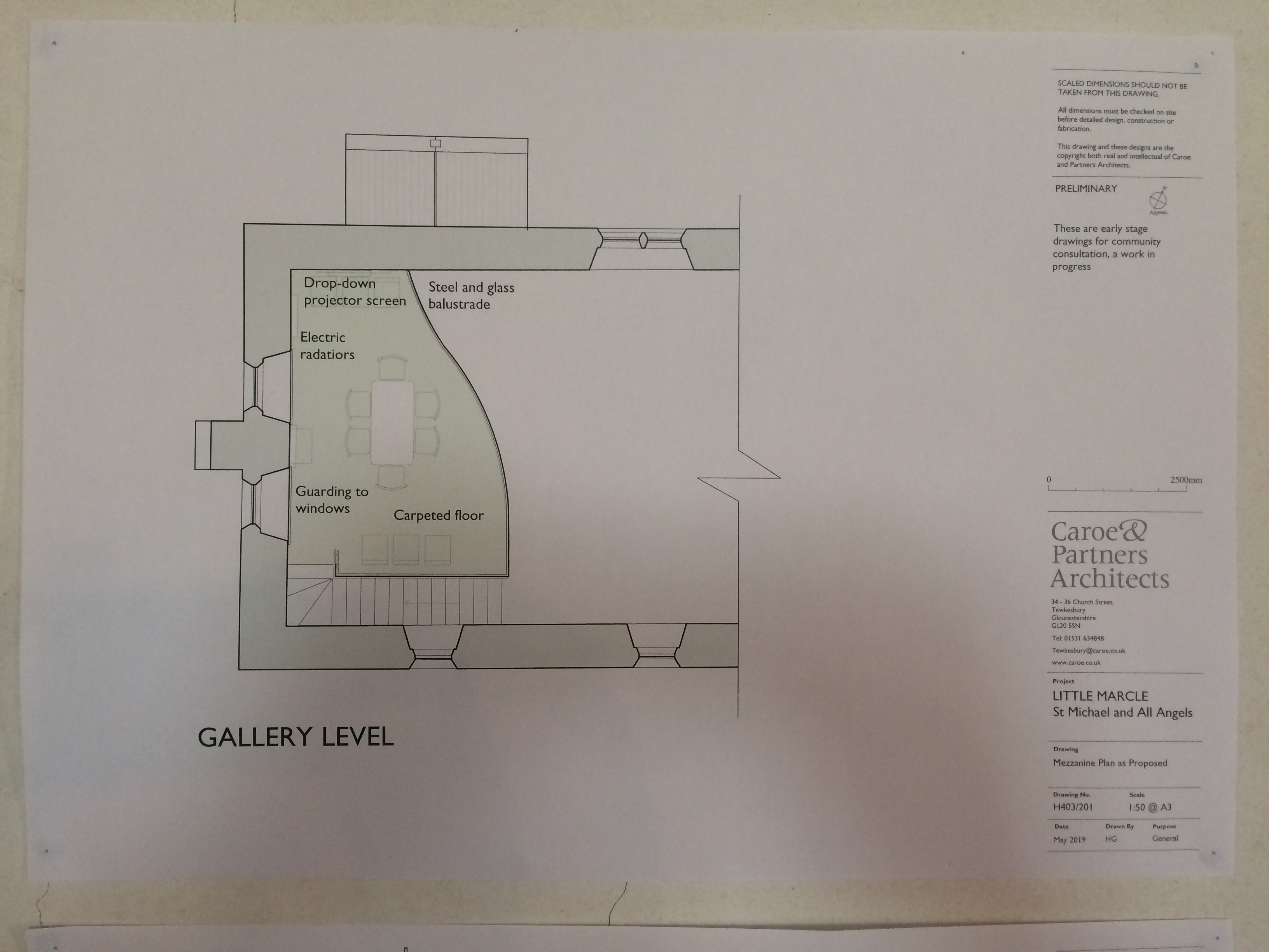 All Angels Church Plan Image Plan Gallery View